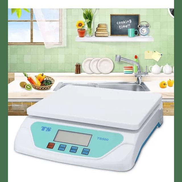 Balanza Pesa 30kg Electrónica Digital