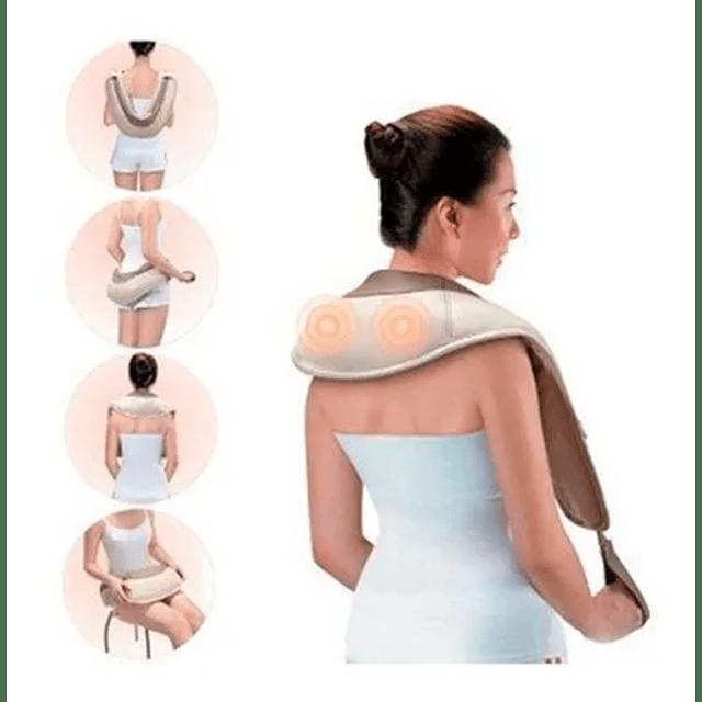 Masajeador Eléctrico Cuello Hombro Y Espalda Cervical Grande