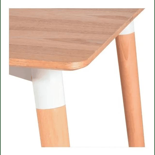 Mesa Comedor Escritorio Rectangular Eames 120x70 Cm Madera
