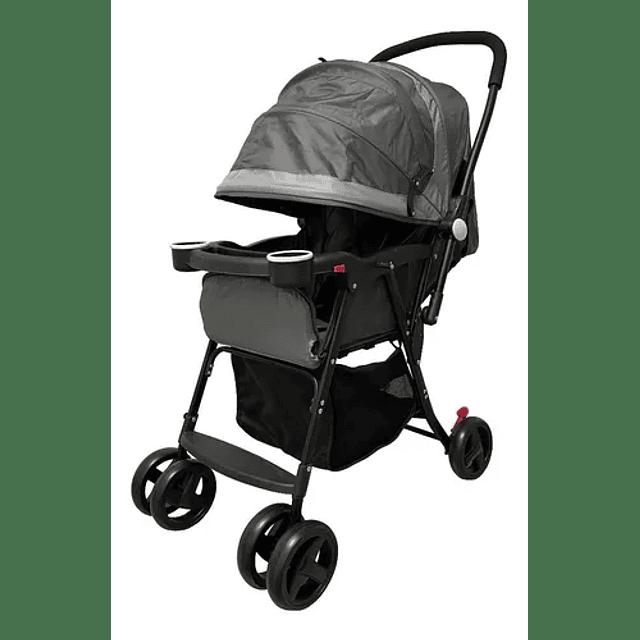 Coche De Bebé Paseo Plegable Gris 21048