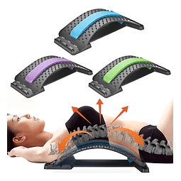 Masajeador Lumbar Estirable Corrector Postura 4 Niveles