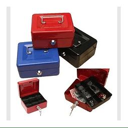 Caja Fuerte Metálica Para Dinero Seguridad 250mm