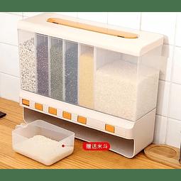 Dispensador 6 En 1 De Cereales Granos Frutos Secos Arroz