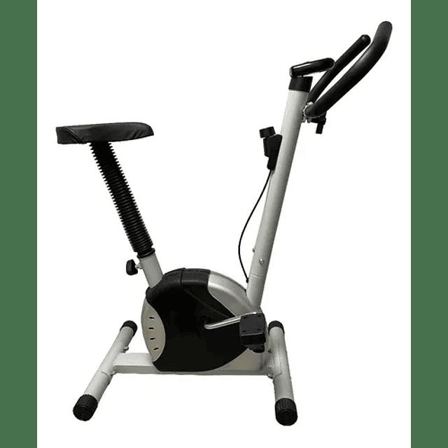 Bicicleta Spinning Ajustable Display Contador Digital Cardio Gris CA-2595