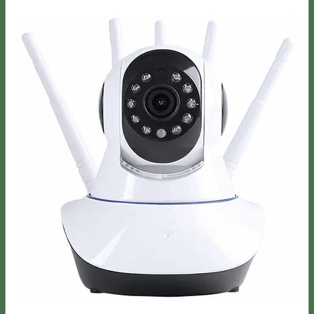 Camara Ip Wifi Seguridad Alarma 360 Envio Gratis