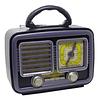 Reproductor Radio Retro Vintage Bluetooth Fm/am Usb