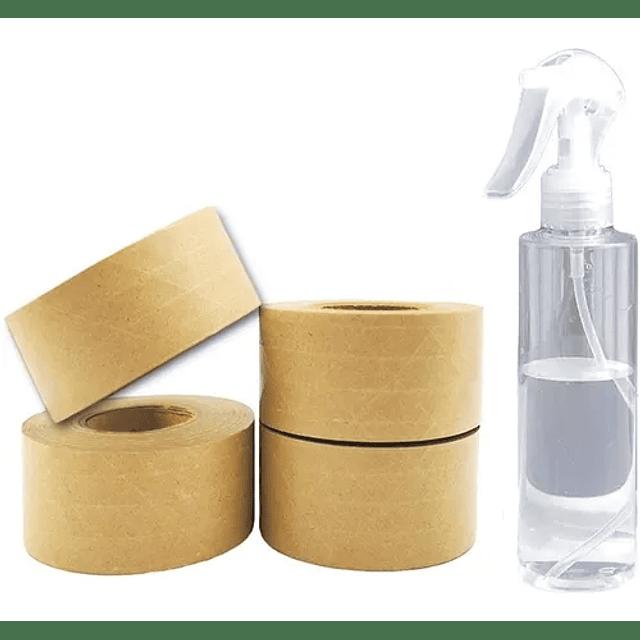 Cinta Papel Kraft Engomado Reforzado Fibra