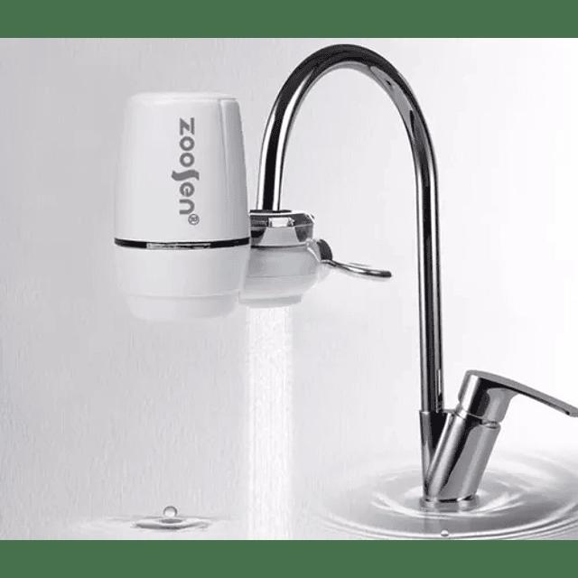 Purificador Agua Filtro Grifo Lavaplatos Doble Cocina
