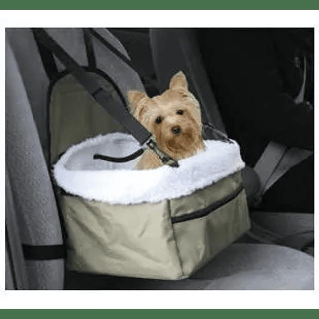 Asiento Mascota Auto Canasta Viaje Perro Gato