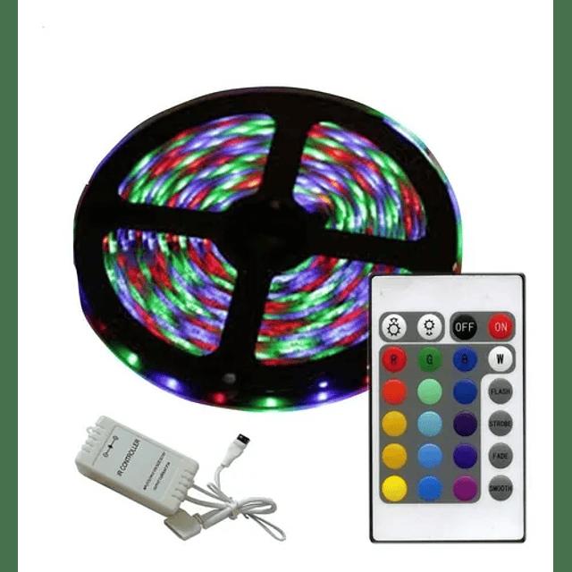 Tira De Luz Led Multicolor Mando A Distancia
