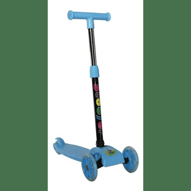 Tri Scooter Led Niños Maxi Ruedas Silicon