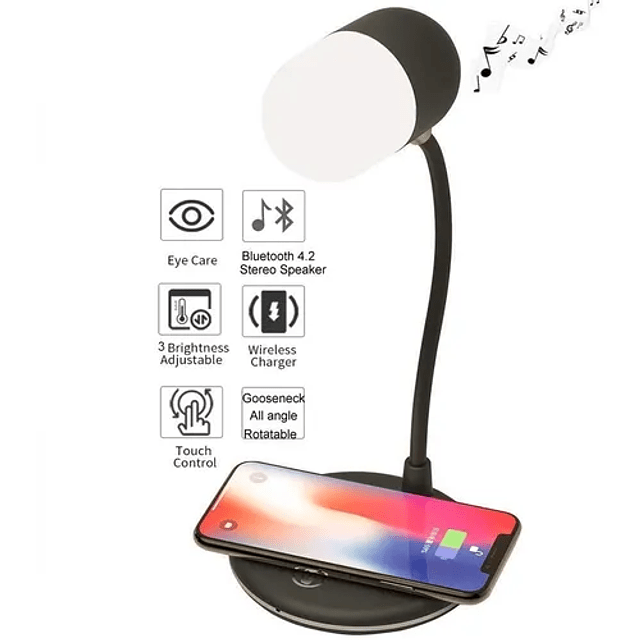 Cargador Inalambrico Rapido Samsung Ios LG Nokia Htc Asus