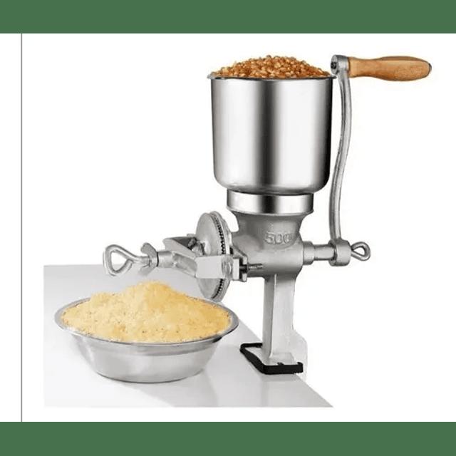 Molino Moledor Manual Choclo Maiz Cafe Granos Mani Cereal