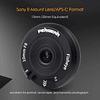 Pergear 10mm F8 Pancake Lens Tiny Fisheye Lens Manual FUJIFILM/SONY