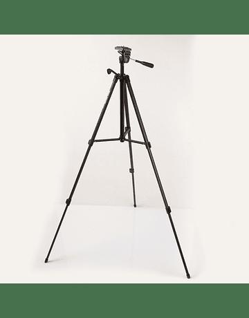 TRÍPODE SOLIGOR WT-330A (ALT 134,5 CMS) C/ESTUCHE
