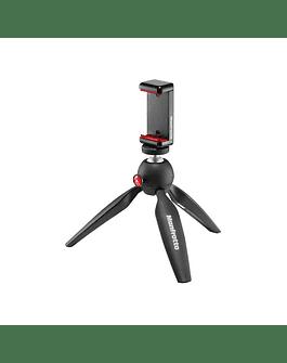 Mini Trípode Manfrotto Pixi Con Soporte Para Smartphones