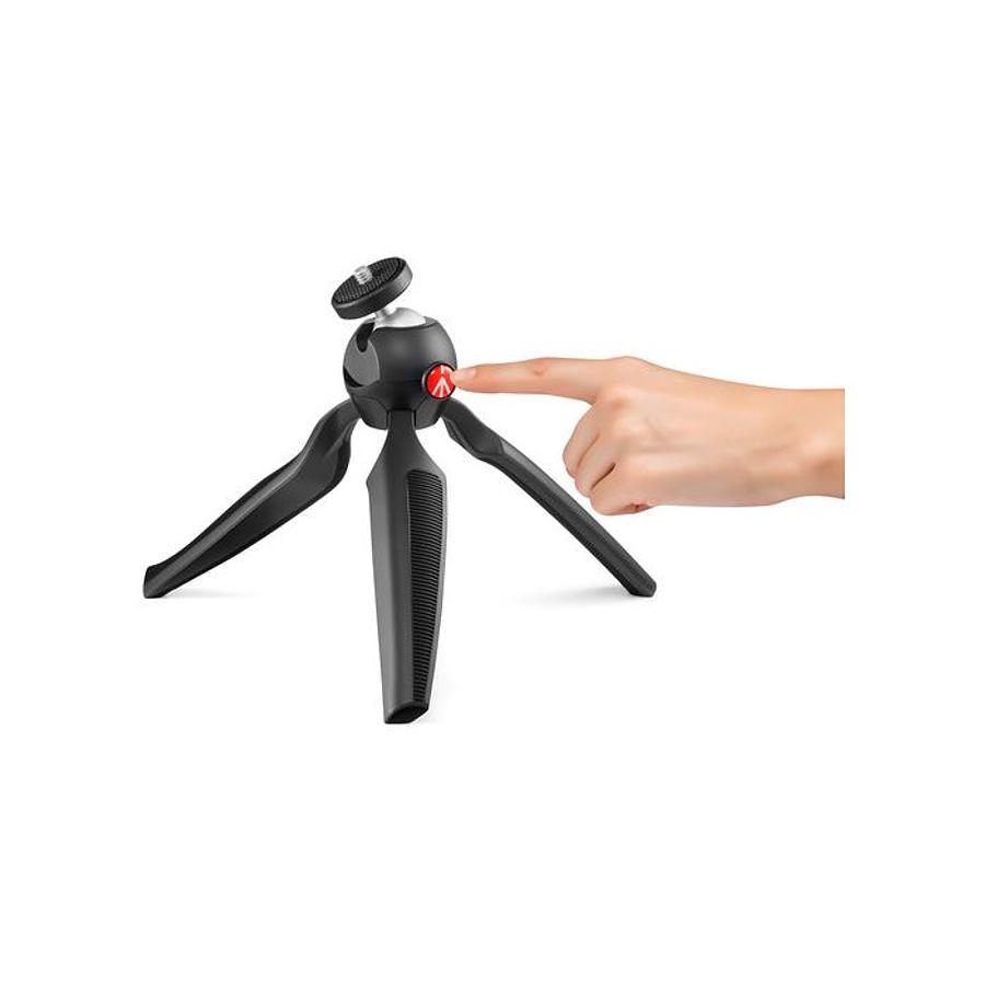 Mini trípode Manfrotto Pixi Plus Negro