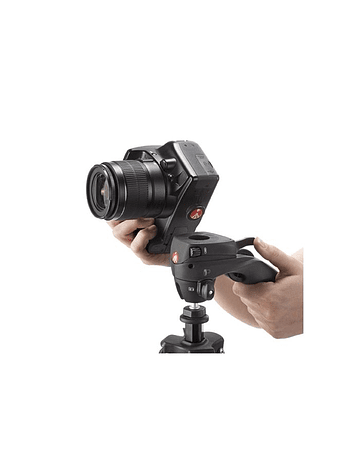 Tripode Manfrotto Compact Action negro