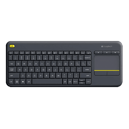 Teclado Inalámbrico Logitech K400 Plus Touchpad Pc Tv