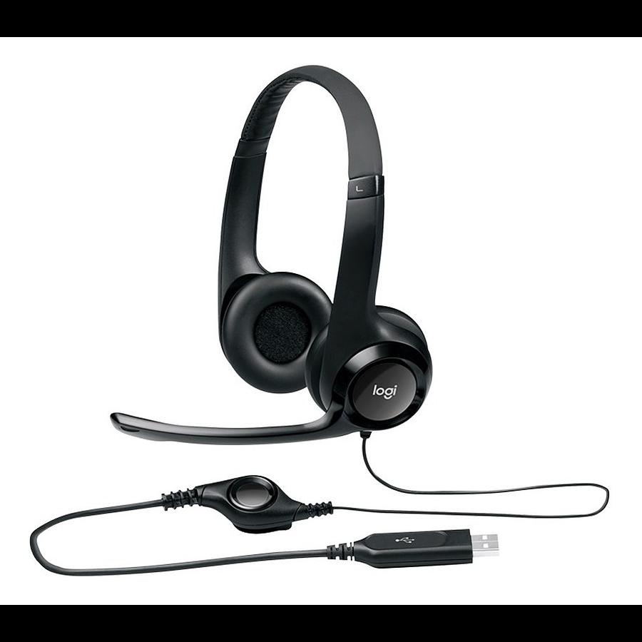Audífono Con Micrófono Logitech H390 Usb