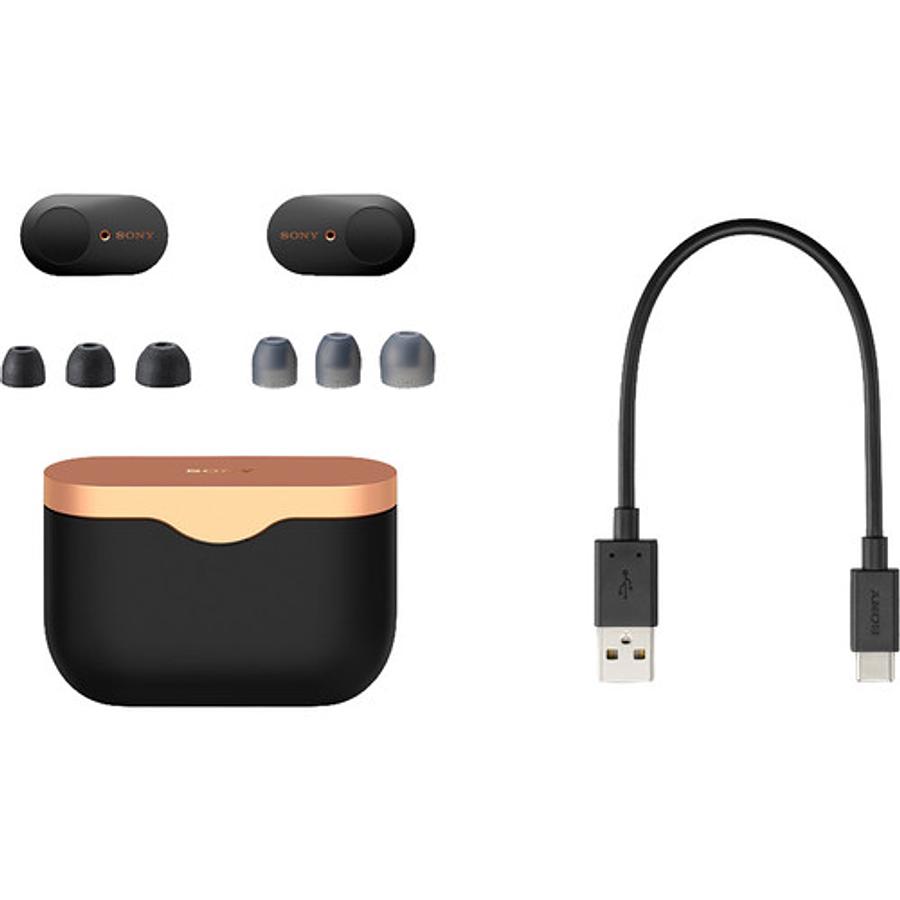 Sony WF-1000XM3 True Wireless Noise-Canceling In-Ear (Negro)