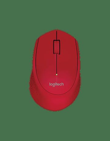 Mouse Inalámbrico Logitech M280 RED Wireless 2.4GHz