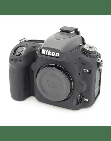 PIEL DE SILICONA NIKON D750 Negra
