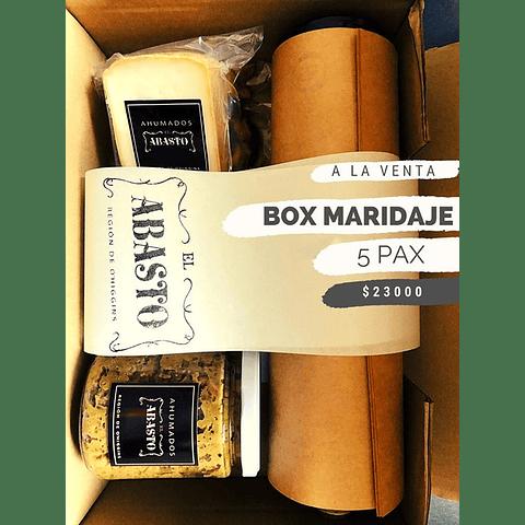 BOX  MARIDAJE APERITIVO