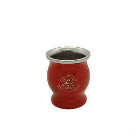 Mate Acero Inoxidable Rojo