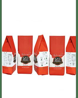 5 Paquetes de Yerba Mate Barbacua 500 Gramos