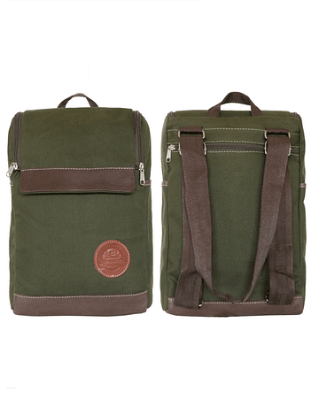 Mochila Morral Color Verde