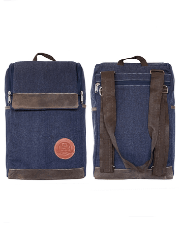 Mochila Morral Color Jeans