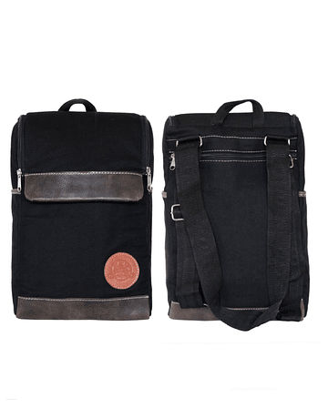 Mochila Morral Color Negro