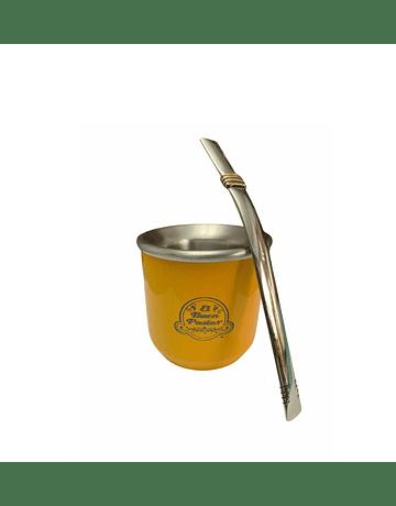 Set Mate Rutero Color Amarillo