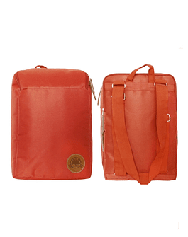 Mochila Matera Roja C/Porta Notebook