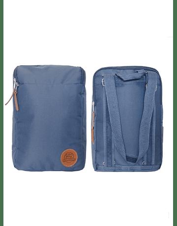 Mochila Morral Matera Azul C/ Porta Notebook