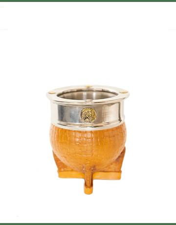 Mate Imperial Acero Inox. Amarillo