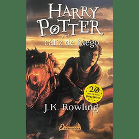 Harry Potter 4  y el cáliz de fuego  Tapa rústica  J.K. Rowling