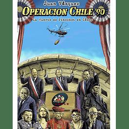 OPERACION CHILE, la muerte de pinochet en comic
