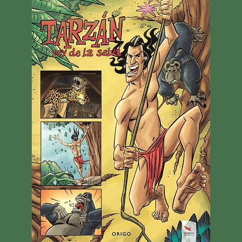 TARZAN rey de la selva - NOVELA GRAFICA
