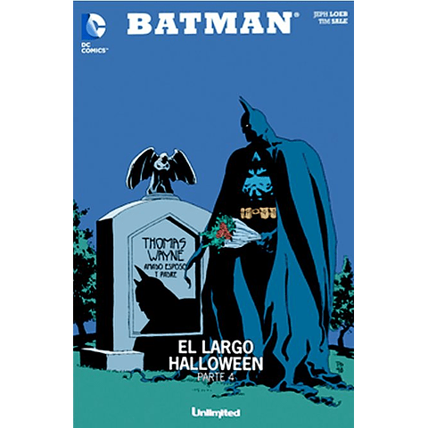 BATMAN - el largo halloween (partes 4, 5 y 6)