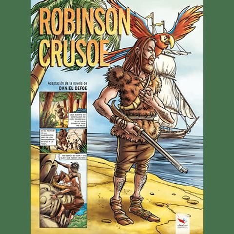 ROBINSON CRUSOE NOVELA GRAFICA