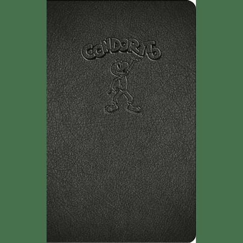 CONDORITO libreta de apuntes - replica pepo - NEGRO o ROJO