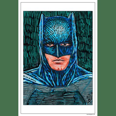 XELLO AFICHE FAN ART - BATMAN