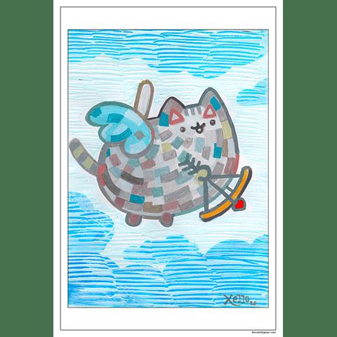 AFICHE FAN ART - PUSHEEN