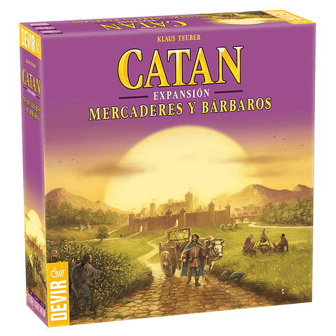 Catan Mercader y Barbaros