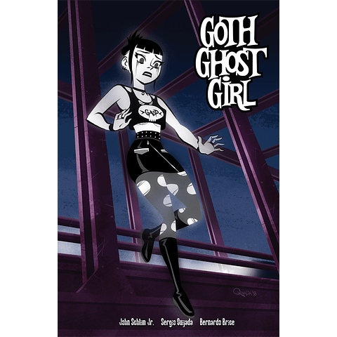 GOTH GHOST GIRL 1