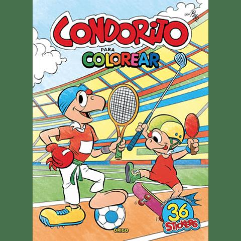 CONDORITO DEPORTES PARA COLOREAR