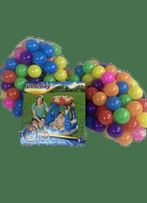 Pack 500 Pelotitas plástico para bebé