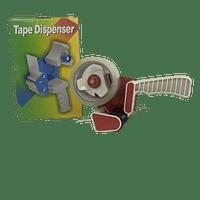 Dispensador cinta embalaje c/rollo 50 mts